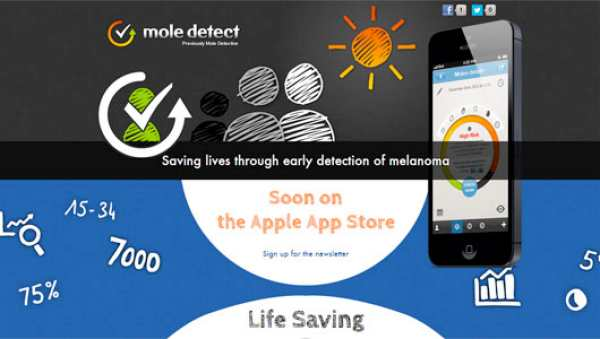 Skin cancer symptoms not detected well with apps
