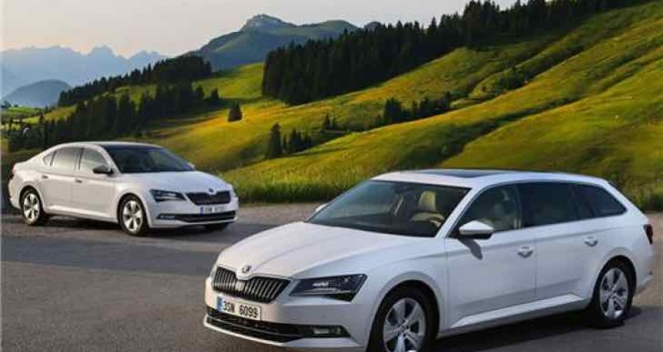 IAA 2015 Frankfurt to reveal Skoda Superb Greenline UK pricing