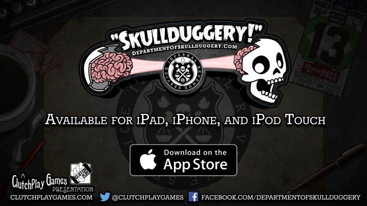 Skullduggery app ideal for Halloween