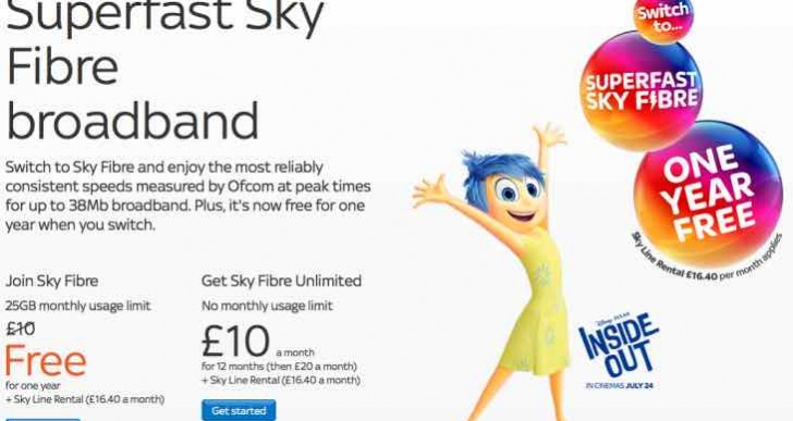 Sky Fibre deals blow to BT with new price