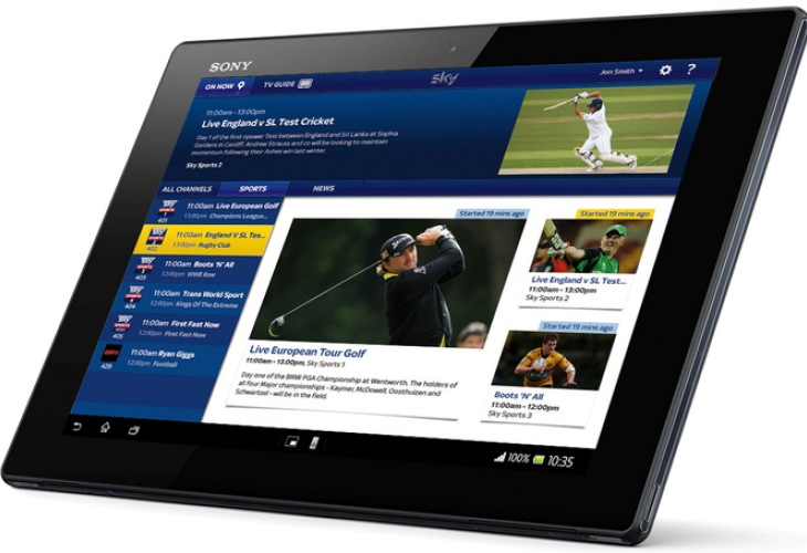 Android tablets to get Sky Go from December 3rd