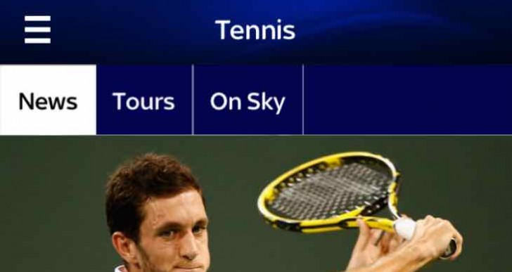 Sky Sports app update coincides with French Open 2015