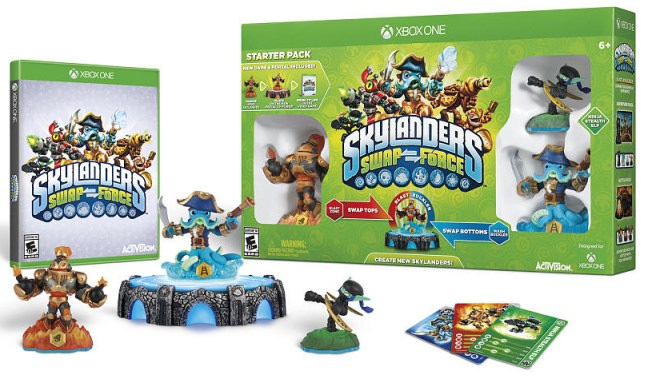 Skylanders Swapforce Starter Pack for Xbox One, PS4 pre-order