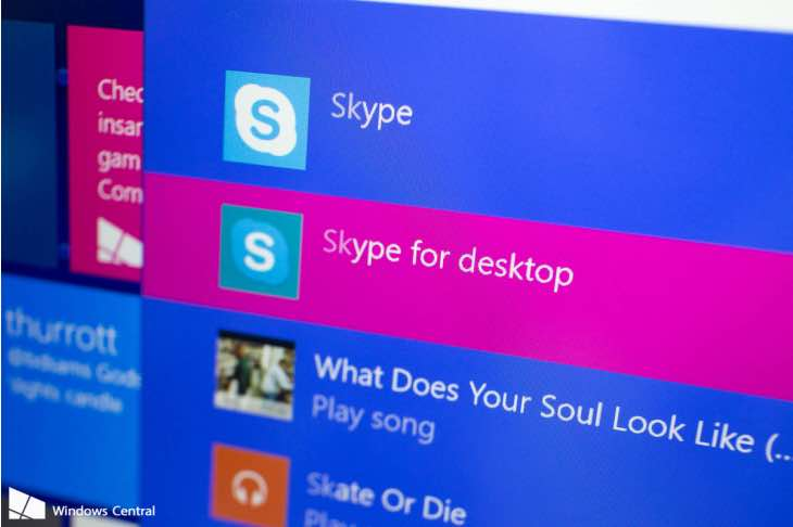 Skype for Windows update