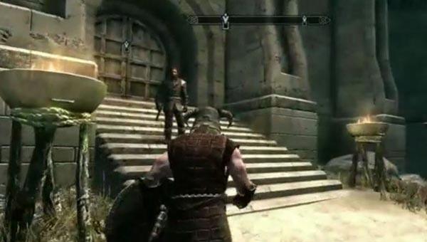 Skyrim Dawnguard social silence before PS3 DLC