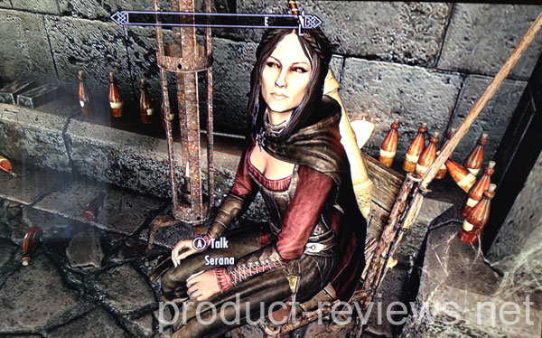 Skyrim Dawnguard brings Serana affection
