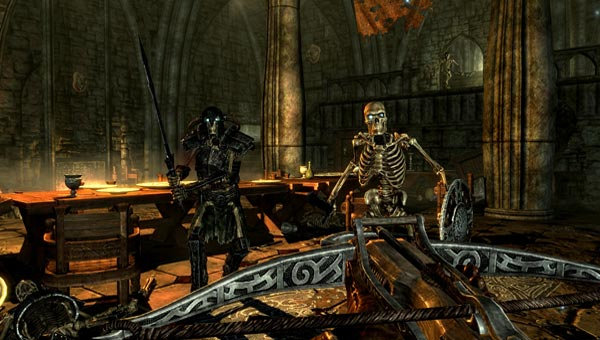 Skyrim Dawnguard PS3 existence hinted in tweet