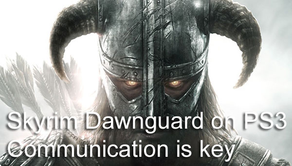 Skyrim Dawnguard: 30-day PS3 DLC utilization