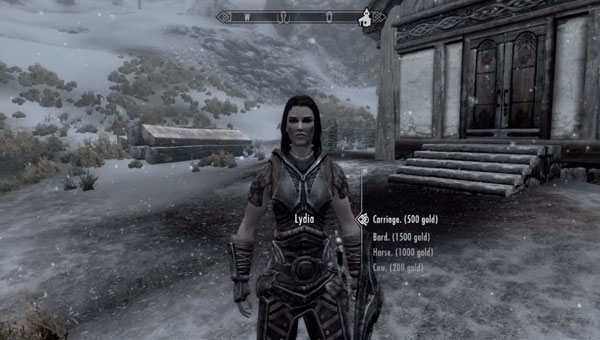 Skyrim Hearthfire: Hire a steward in DLC