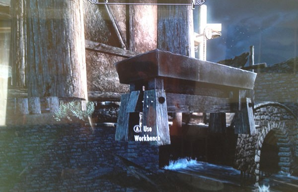 Skyrim Dawnguard under map glitch appears