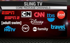 Sling TV for Xbox One and channel list desires