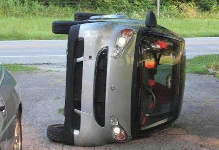 Smart Car tipping is no epidemic