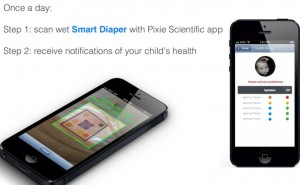 Smart Diapers test baby urine with app