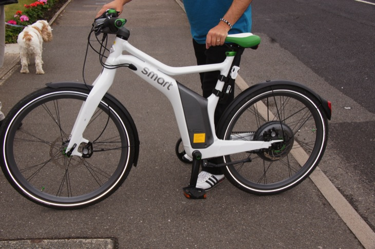 smart ebike review the electric bike practicalities. Black Bedroom Furniture Sets. Home Design Ideas