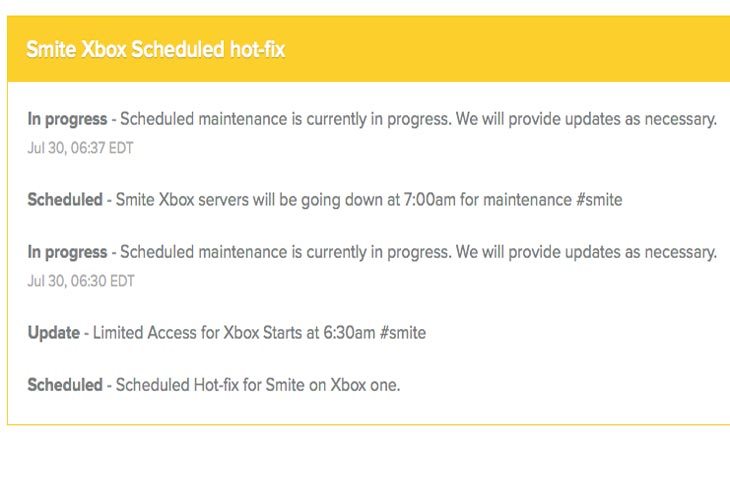 Smite-Xbox-Scheduled-hot-fix