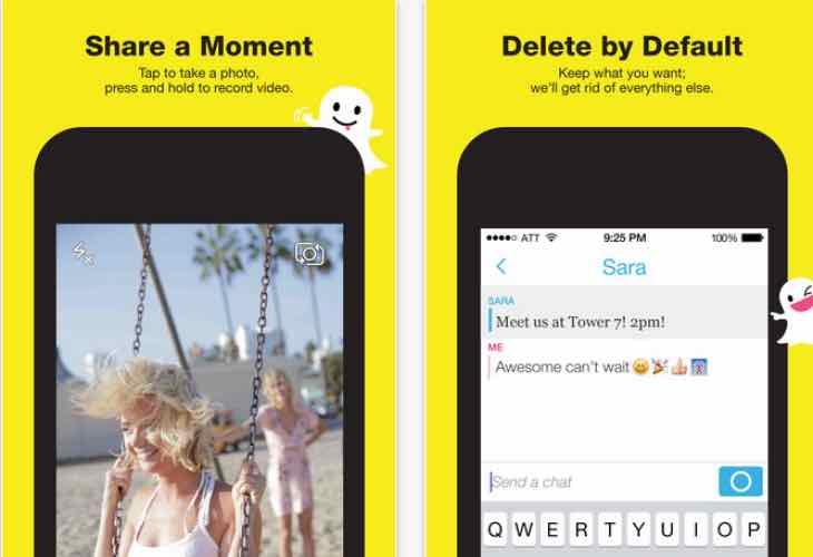 Snapchat app update to v9.9.0