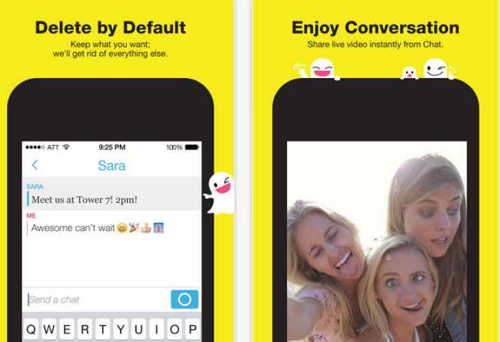 Snapchat app update