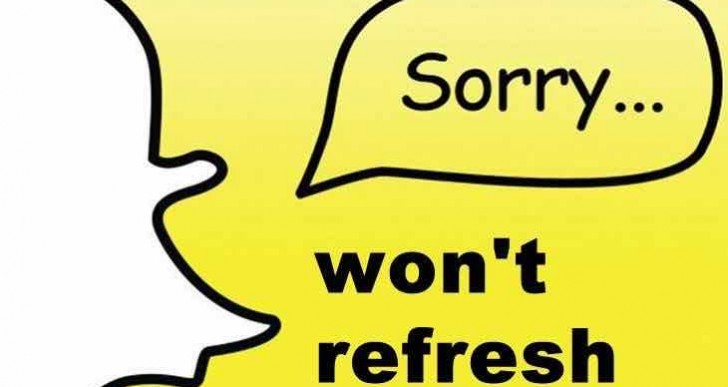 Snapchat down Feb 8 with could not refresh error