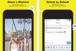 Snapchat iOS layout update, contacts not lost