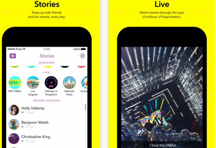 Snapchat now features Chat 2.0