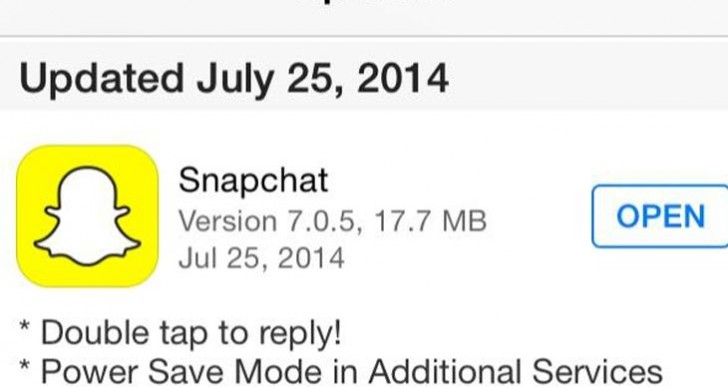 Snapchat power save mode clarified