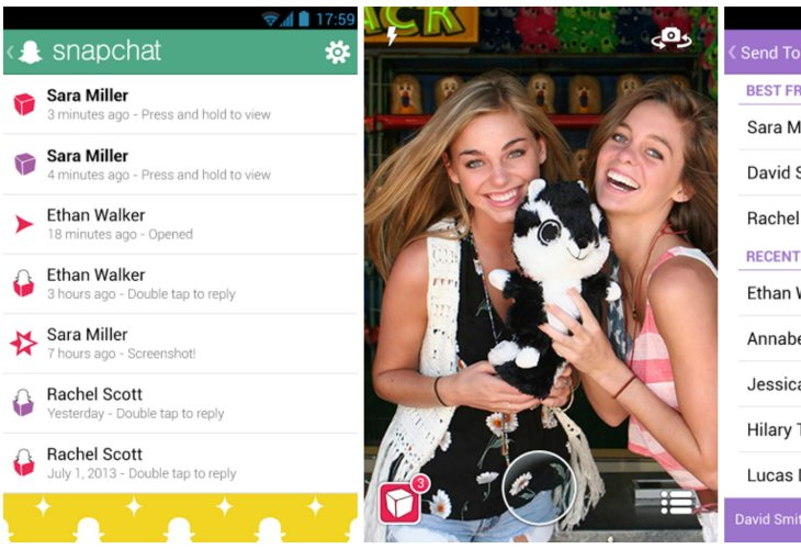 Snapchat update for Android is live