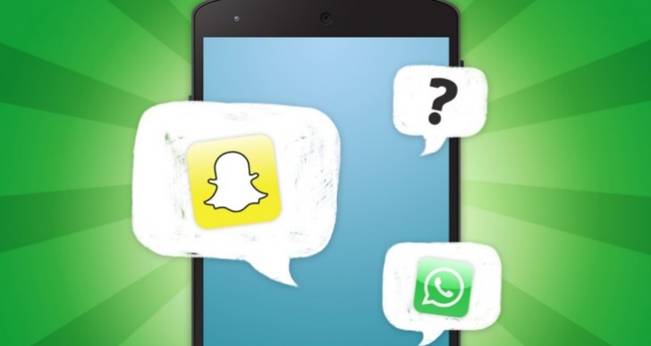 Snapchat vs. WhatsApp growth and iPad support