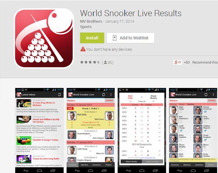 Snooker-Live-App