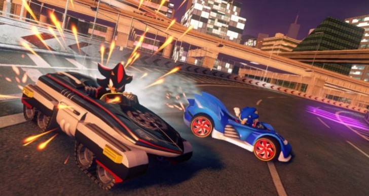 Sonic & All-Stars Racing Transformed update improvement