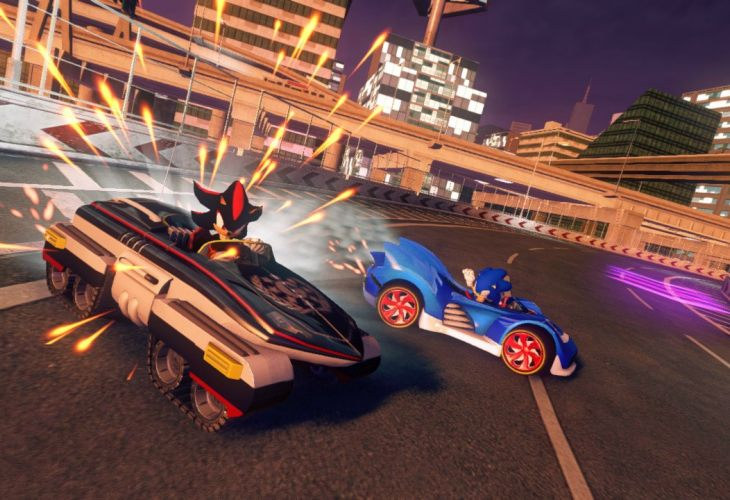 Sonic & All-Stars Racing Transformed update improves socially