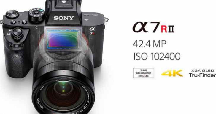 Sony α7R II review of specs and lenses