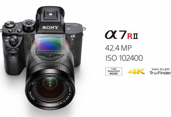 Sony α7R II review of specs