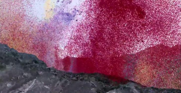 Sony shows off 4K capability with 8 million flower petal volcano extravaganza
