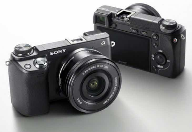 Sony A6100 launch
