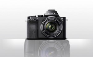 Sony A7r, A7 compact mirrorless full-frame cameras