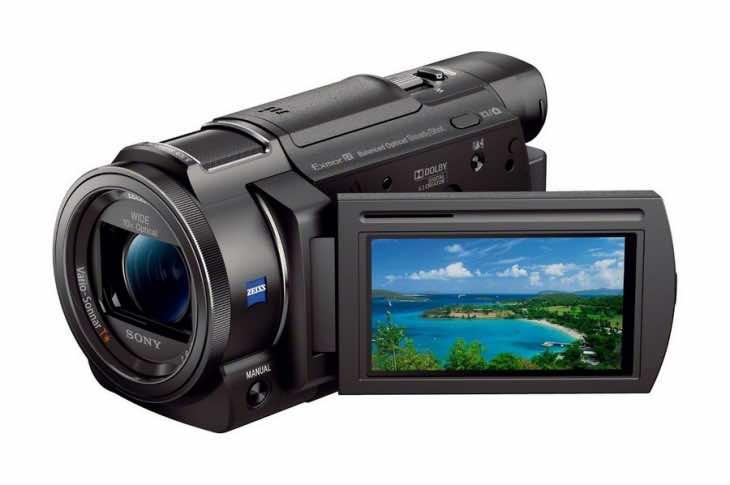 Sony Handycam quartet from CES 2015
