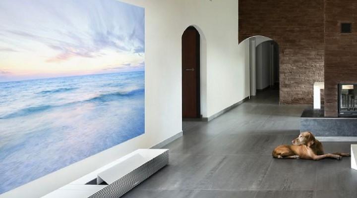 Sony flaunts 147 inch 4K ultra short throw projector