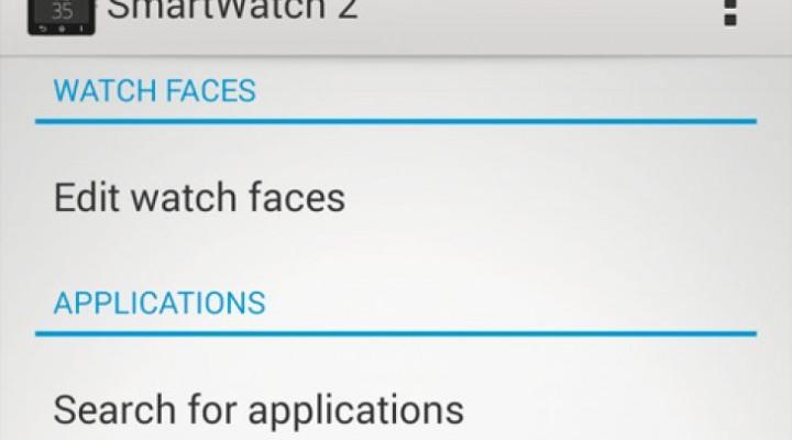 Sony Smartwatch 2 customization and functionality update