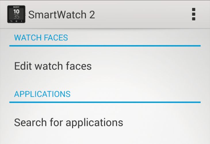 Sony Smartwatch 2 customization and functionality update