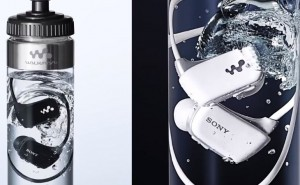 Sony prove MP3 player waterproof feature