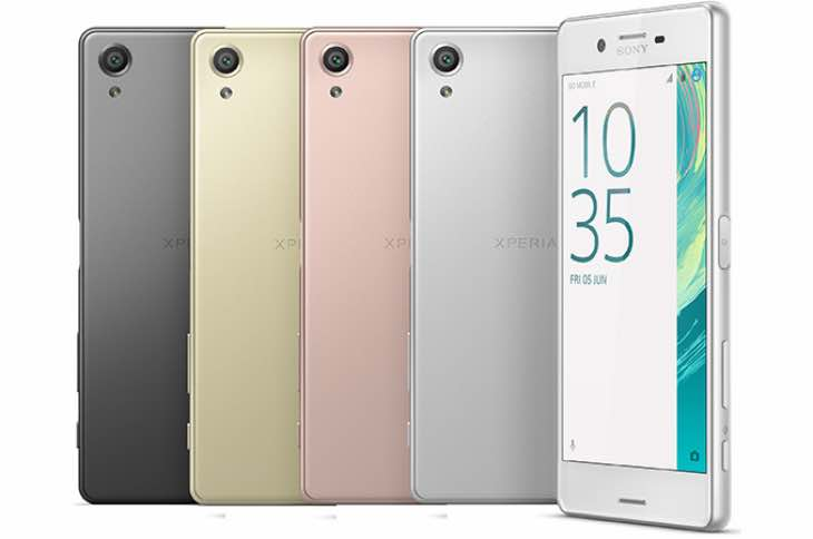 Sony Xperia X Series relese
