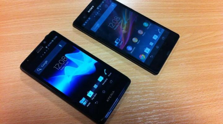 Sony Xperia Z vs Xperia T, review details evolution