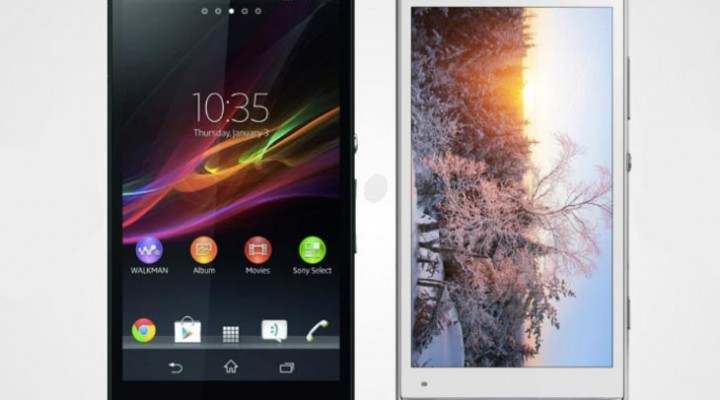 Sony Xperia Z vs. Xperia SP for specs and features