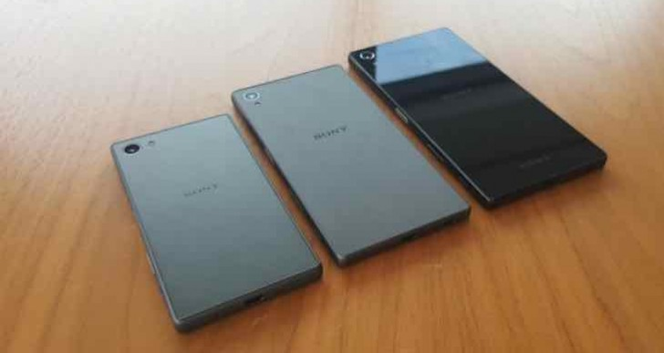 Sony Xperia Z5 review of design from photos