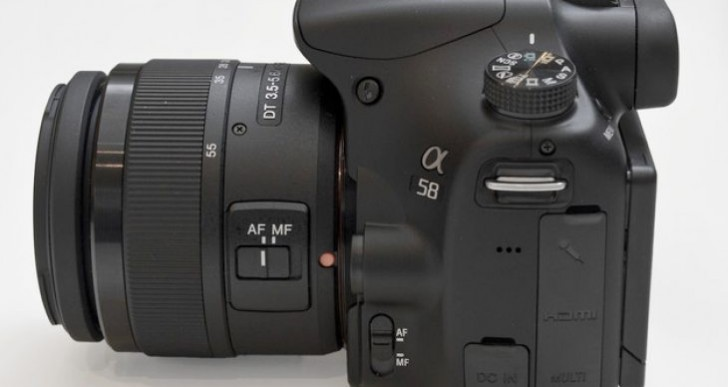 Sony Alpha a58 vs. a57 video review confrontation pending