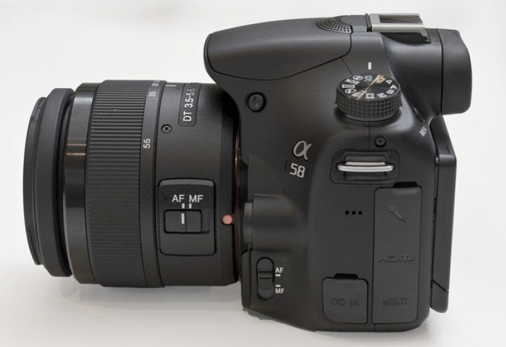 Sony a58 vs. a57 video review confrontation pending