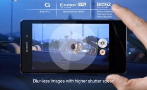 Sony explain Xperia Z1 camera features