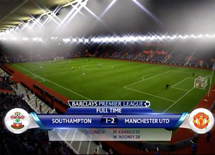 Southampton-V-Man-Utd-SIM-with-Rooney-goal