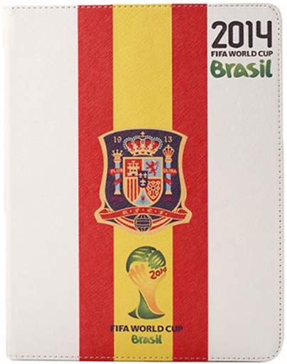 Spain World Cup iPad Air case