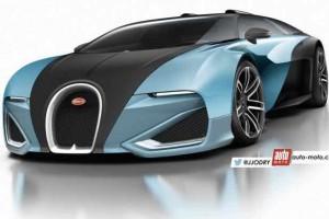 Speculative Bugatti Chiron render